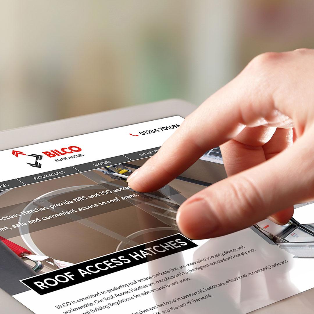bilco website design and development